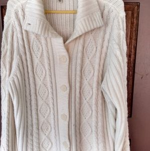St John's Bay Sweater Jacket/Plus size